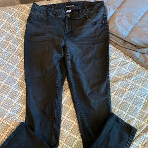 Black Skinny Jeans (Maurices)
